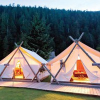 Luxury Accommodation | Our Tents | Clayoquot Wilderness Resort