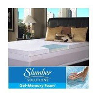 Amazon.com: Slumber Solutions Gel Select 3 Inch Memory Foam Mattress Topper, Size King: Everything Else