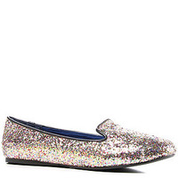 Sole Boutique Shoe Twitter V in Glitter