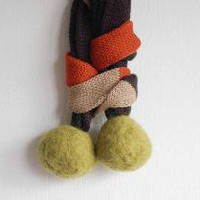 tiny pompom candy16 by dadaya on Etsy