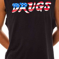 Cult The Drugs Sleeveless Tee in Black : Karmaloop.com - Global Concrete Culture