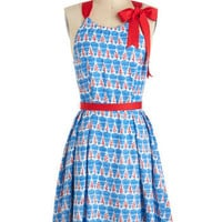 Eva Franco Dice as Nice Dress | Mod Retro Vintage Printed Dresses | ModCloth.com