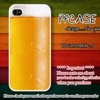 Beer bubbles Hey Cheer : Case For Iphone 4/4s ,5 / Samsung S2,3,4