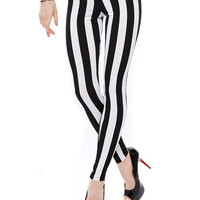 Papaya Clothing Online :: STRIPE LEGGINGS