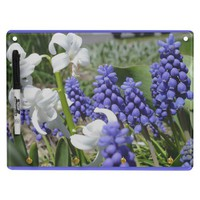 Hyacinth And Muscaru Dry Erase Board from Zazzle.com