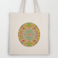 Mesh Circle Tote Bag by Glanoramay