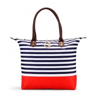 C. Wonder | Striped Nylon Easy Tote