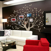 Family Tree wall sticker decal graphic mural home wall covering interior decor design