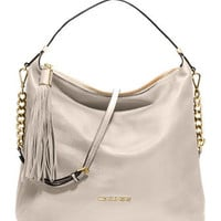 MICHAEL Michael Kors  Large Weston Pebbled Shoulder Bag