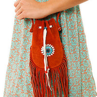 Nila Anthony The Eva Leather Festival Fringe Bag in Orange : Karmaloop.com - Global Concrete Culture