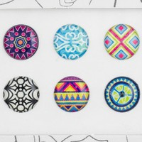 Bubble Buttons Home Button Sticker Patterns Pack:Amazon:Cell Phones & Accessories