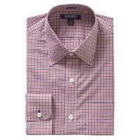Bonobos Men's Clothing | Gentleman Collar Dress Shirt - Blue and Red Check