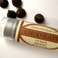 Chocolate Lip Balm - Unsweetened