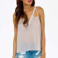 Hydrozoa Strappy Tank Top $25