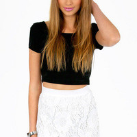 Serena Crochet Skirt $42