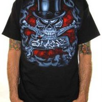 Slash, T-Shirt, Skull N Crossbone