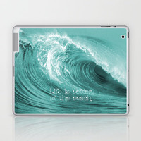 Better at the Beach Laptop & iPad Skin by Alice Gosling