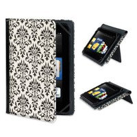 "Verso ""Versailles"" Standing Cover for Kindle Fire HD 8.9"", Black and White (will only fit Kindle Fire HD 8.9""):Amazon:Kindle Store"
