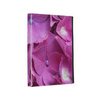 Pink Hydrangeas iPad Folio Cases from Zazzle.com