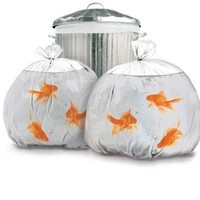 Suck UK Goldfish Happy Sack Bin Bags:Amazon:Home & Kitchen