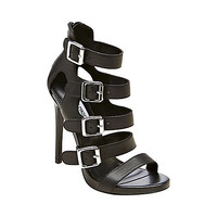 Steve Madden - RECITAL BLACK LEATHER