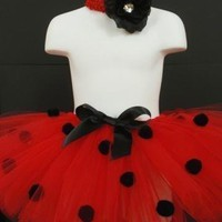 Ladybug Tutu Costume For Halloween Dress Up Photos by chickypoo209