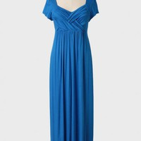Caspian Sea Curvy Maxi Dress at ShopRuche.com