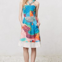 Patchworked Aida Dress