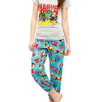 Marvel Comics Heroes Pajama Set | Hot Topic