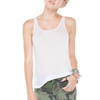 Brandy ♥ Melville |  Francesca Ribbed Tank - Just In