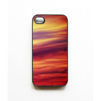Iphone Case. iphone 4 case. iphone 5 case. 4s case. Sunset. ombre. colorful. bright. sky. orange. pink. yellow