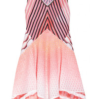 Missoni | Pointelle and crochet-knit patchwork dress | NET-A-PORTER.COM