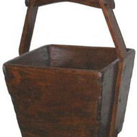 Antique Bucket - OrientalFurniture.com