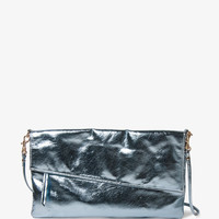 Metallic Zippered Crossbody