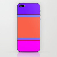Re-Created Playing Field XXXII iPhone & iPod Skin by Robert Lee