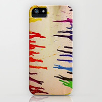 Crayon Art iPhone & iPod Case by Rhiannon