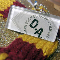 Dumbledore&#x27;s Army Necklace by trophies on Etsy