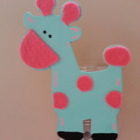 Giraffe Night Light - Night Light - Baby Nursery Decor - Jungle Nursery