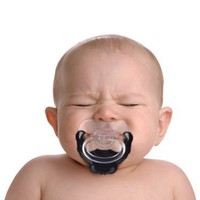 Fred and Friends CHILL BABY Goatee Pacifier:Amazon:Toys & Games