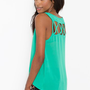 Lattice Chiffon Tank in Clothes at Nasty Gal