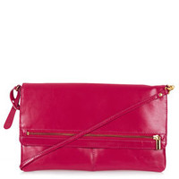 Clean Zip Front Clutch - Bags & Wallets  - Bags & Accessories