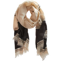 Maiyet Stripe Trim Scarf at Barneys.com