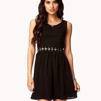 Lace-Up Cutout Dress | FOREVER 21 - 2051657004