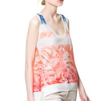 PALM TREES TANK TOP - Woman - New this week - ZARA United States