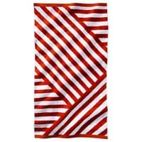 Nate Berkus™ Westwood Beach Towel - Red/White