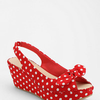 Urban Outfitters - Restricted Polka Dot Platform Sandal