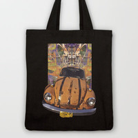 VW ~Bug power Tote Bag by Bruce Stanfield