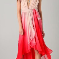 Haute Hippie Chiffon Layered Wrap Dress | SHOPBOP