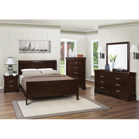 Wildon Home ® Montreal Sleigh Bedroom Collection