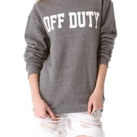 Sincerely Jules Off Duty Sweatshirt | SHOPBOP